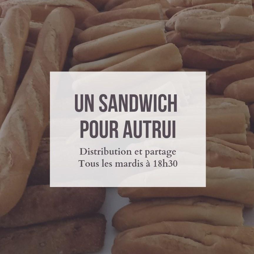 Un sandwich pour autrui
